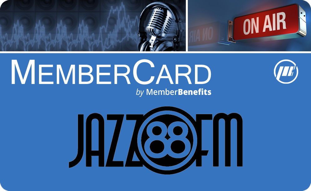 Jazz88 Member Card Logo