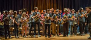 Students performing finale at the 2016 JAM.