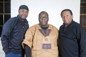 Lenny White, Cyrus Chestnut, Buster Williams_photo by Alan Nahigian