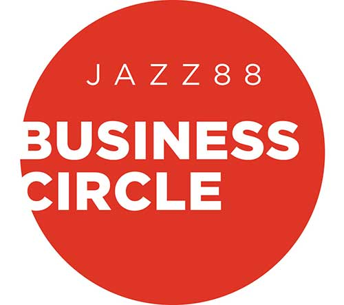 Jazz88 Business Circle Logo