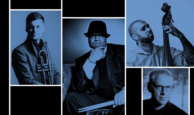 Jazz in the Target Atrium: Drum & Trumpet