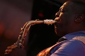 Saxophonist Jesse Davis