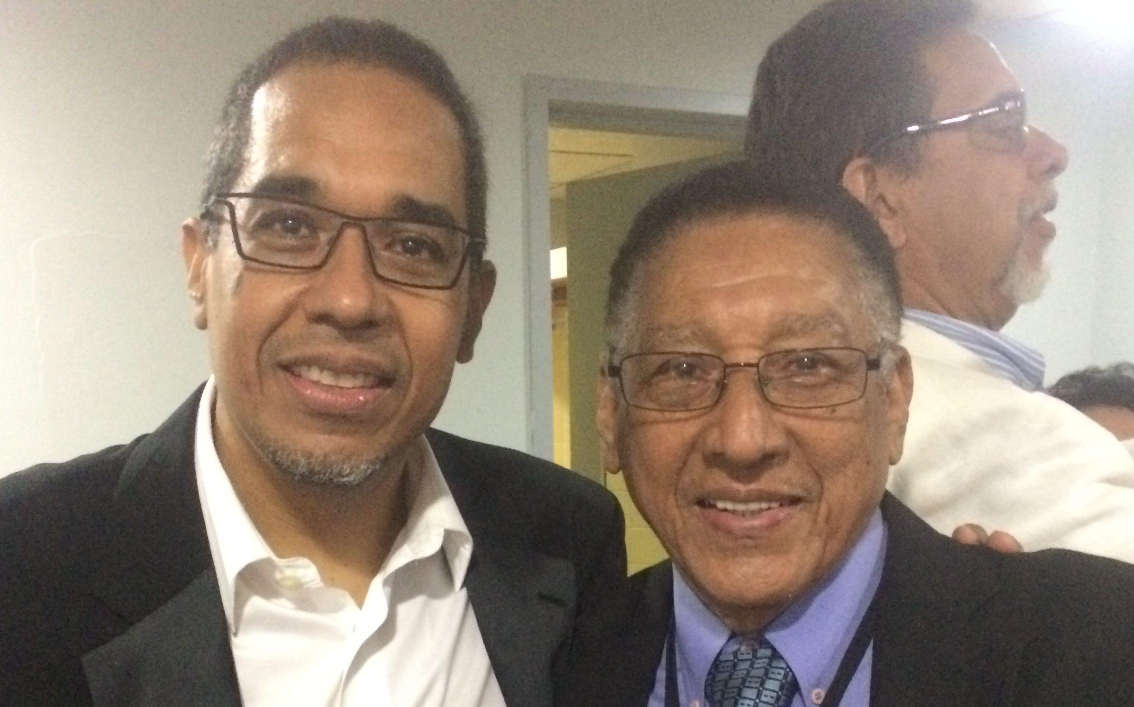 Pianist Danilo Perez and his father