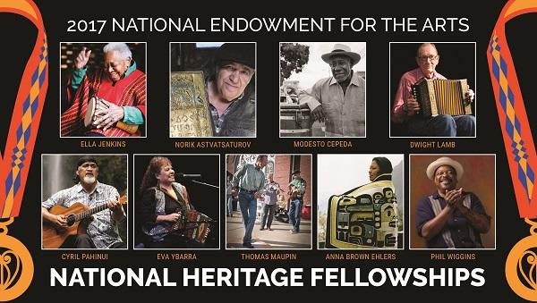 NEA Heritage Fellows, 2017