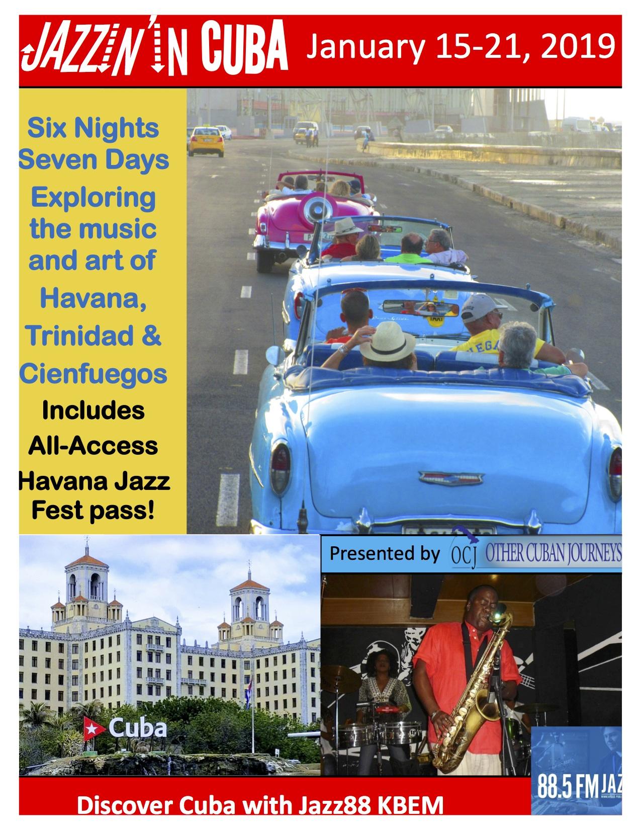 Jazz88 Cuba Trip 2019