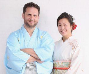JC Sanford and Asuka Kakitani