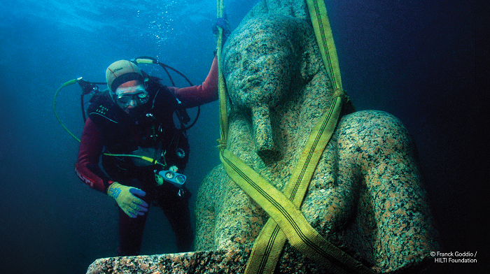 Egypt's Sunken Cities Franck Goddio, HILTI Foundation