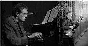 Pianist Larry McDonough and guitarist Joel Shapira